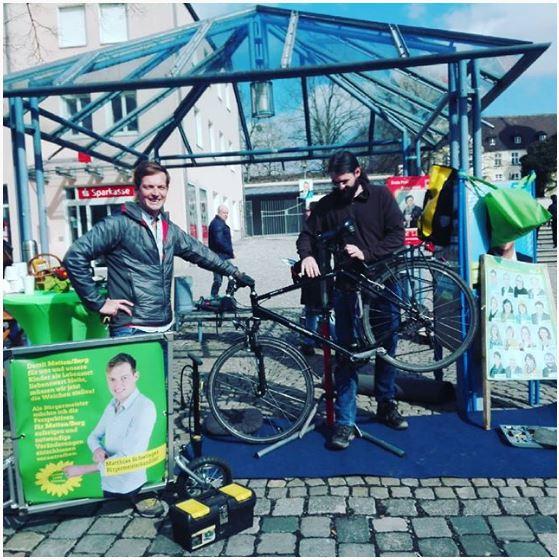 Fahrrad-Check/Service am Marktplatz