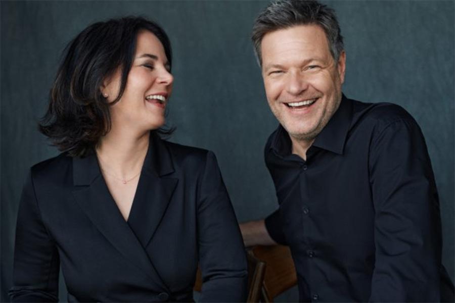 Annalena Baerbock und Robert Habeck: